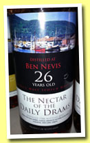 Ben Nevis 26 yo 1986/2012 (51.8%, The Nectar of the Daily Drams)