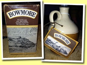 Bowmore 1955/1974 'For 12th September 1974' (unknown ABV, OB, 100 halves)