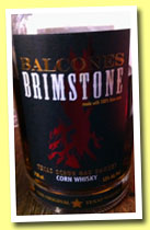 Balcones 'Brimstone' (53%, OB, corn whisky, Texas, +/-2012)