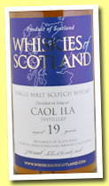 Caol Ila 19 yo (55.3%, Whiskies of Scotland, 2012)