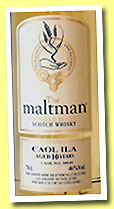 Caol Ila 10 yo 2000 (46%, The Maltman, +/-2011)