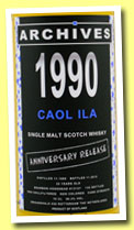 Caol Ila 22 yo 1990/2012 (56.3%, Archives, bourbon hogshead, 130 bottles)
