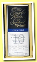 Caperdonich 10 yo 1998/2008 (58.5%, The Single Malts of Scotland, cask #1277, 251 bottles)