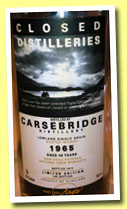 Carsebridge 46 yo 1965/2012 (45.6%, Part des Anges, 196 bottles)