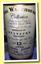 Deanston 13 yo 1995/2008 (60.8%, Warehouse Collection, refill sherry butt, cask #1952, 546 bottles)