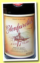 Glenfarclas 17 yo (43%, OB, Japan, +/-1989, 75cl)