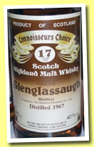 Glenglassaugh 17 yo 1967 (40%, Gordon & MacPhail, Connoisseurs Choice, old brown label)