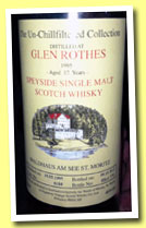 Glenrothes 17 yo 1995/2012 (46%, Signatory for Waldhaus am See, cask #6184, 774 bottles)