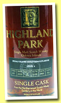 Highland Park 28 yo 1977 'Ping No. 2' (52.3%, OB  OB for Juuls Vinhandel, cask #7959, 240 bottles)