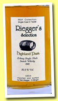 Highland Park 1981/2005 (50.3%, Riegger's Selection, cask #6048, 50cl)