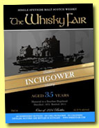 Inchgower 35 yo 1975/2011 (41.9%, The Whisky Fair, bourbon hogshead, 224 bottles)