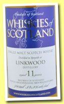 Linkwood 11 yo (54.2%, Whiskies of Scotland, 2012)