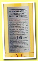 Highland 12 yo (40%, Marks & Spencer, +/-2012)