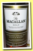 Macallan 'Gold' (40%, OB, 2012)