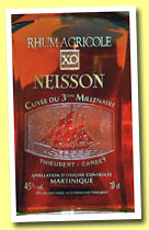Neisson XO '3eme millénaire' (45%, OB, Martinique, decanter, +/-2012)