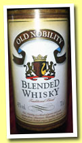 Old Nobility (40%, Metro, blended whisky, France, +/-2012)