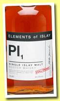 Pl1 (60%, Specialty Drinks, Elements of Islay, 2012)