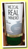 Real Minero 2009 'Tobalà' (49.4%, OB, 168 bottles)