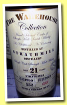 Strathmill 21 yo 1990/2012 (54.1%, The Warehouse Collection, refill sherry butt, cask #2254, 552 bottles)