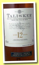 Talisker 12 yo (45.8%, OB for Friends of Classic Malts, European Oak, 21500 bottles, 2007)
