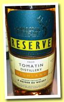 Tomatin 2001/2012 (46%, Gordon & MacPhail for LMdW, 1st fill bourbon barrel, cask #3141, 270 bottles)