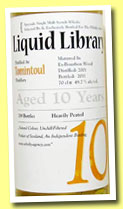 Tomintoul 10 yo 2001/2012 (49.7%, The Whisky Agency, Liquid Library, bourbon wood, 219 bottles)
