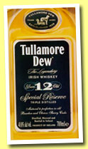 Tullamore Dew 12 yo 'Special Reserve' (40%, OB, +/-2012)