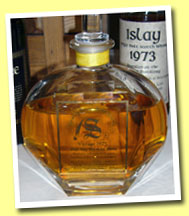 Ardbeg 18yo 1975 (43%, Signatory, decanter, casks #2464-67)