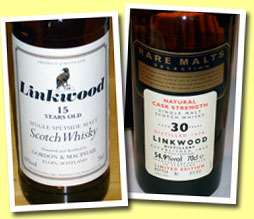 Linkwood 15yo (43%, G&M Licensed bottling, Bottled +/- 2006)