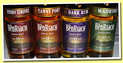 Benriach Finishings