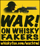 war on whisky fakers