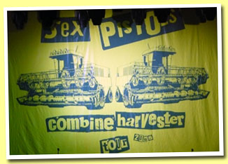Sex pistols combine harvester shirt