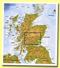 Interactive map of Scotland