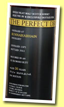 Bunnahabhain perfect dram