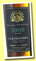 Glenrothes 1969
