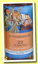 Bunnahabhain liquid treasures