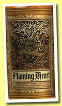 Flaming Heart Compass Box