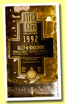 Allt-A-Bhainne 18 yo 1992/2011 (46%, Mo Or Collection, bourbon hogshdead, cask #12, 460 bottles)