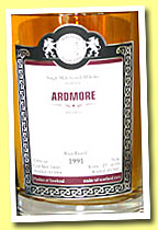 Ardmore 1991/2013 (53.8%, Malts of Scotland, rum barrel, cask #MoS 13018, 234 bottles)