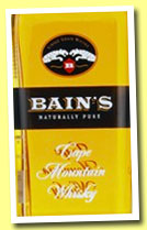 Bain's Cape Mountain Whisky (43%, OB, South Africa, single grain, +/-2013)