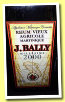 Bally 2000 (43%, OB, agricole, Martinique, +/-2013)