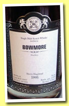Bowmore 1995/2012 (58.9%, Malts of Scotland, sherry hogshead, cask #MoS 12057, 185 bottles)