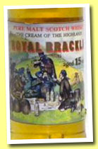 Royal Brackla 15 yo 1972/1988 (64.5%, Gordon & MacPhail for Intertrade, 558 bottles)