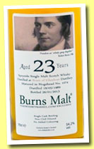 Braeval 23 yo 1989 (54.2%, The Whisky Barrel, Burns Malt, hogshead, cask #1074, +/-2013)
