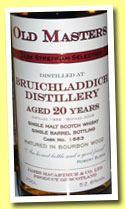 Bruichladdich 20 yo 1988/2008 (52.6%, James MacArthur, bourbon wood, cask #1883)