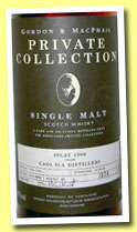 Caoll Ila 1969/2004 (45%, Gordon & MacPhail, Private Collection, sherry, casks #1755/1760, 374 bottles)
