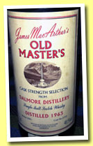Dalmore 1963/2001 (48.1%, James MacArthur, Old Masters, oloroso sherry, cask #5753)