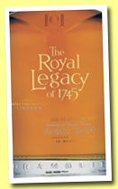 Drambuie 'The Royal Legacy of 1745' (46%, OB, malt whisky liqueur, +/-2011)