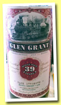 Glen Grant 39 yo 1972/2011 (51.2%, Jack Wiebers Old Train Line, refill sherry)