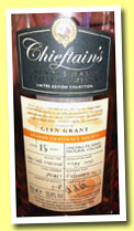 Glen Grant 15 yo 1997/2013 (55.8%, Chieftain's, Islay cask matured, cask #70451, 318 bottles)